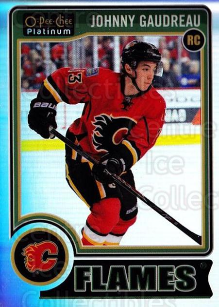 2014-15 O-Pee-Chee Platinum Rainbow #194 Johnny Gaudreau<br/>2 In Stock - $20.00 each - <a href=https://centericecollectibles.foxycart.com/cart?name=2014-15%20O-Pee-Chee%20Platinum%20Rainbow%20%23194%20Johnny%20Gaudreau...&quantity_max=2&price=$20.00&code=712809 class=foxycart> Buy it now! </a>