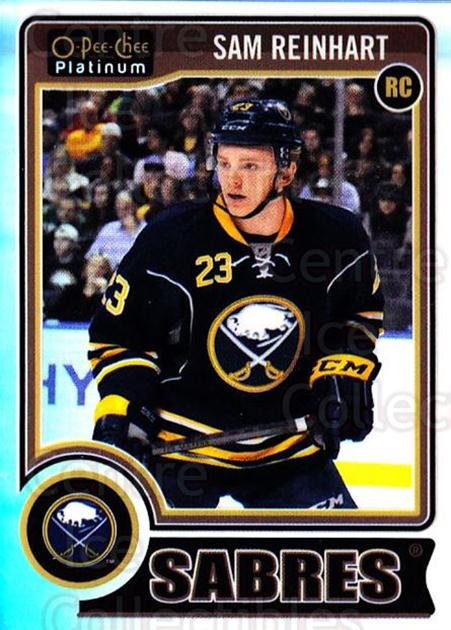 2014-15 O-Pee-Chee Platinum Rainbow #198 Sam Reinhart<br/>2 In Stock - $5.00 each - <a href=https://centericecollectibles.foxycart.com/cart?name=2014-15%20O-Pee-Chee%20Platinum%20Rainbow%20%23198%20Sam%20Reinhart...&quantity_max=2&price=$5.00&code=712813 class=foxycart> Buy it now! </a>
