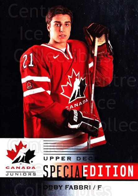 2014-15 Upper Deck Team Canada Special Edition #47 Robby Fabbri<br/>1 In Stock - $3.00 each - <a href=https://centericecollectibles.foxycart.com/cart?name=2014-15%20Upper%20Deck%20Team%20Canada%20Special%20Edition%20%2347%20Robby%20Fabbri...&quantity_max=1&price=$3.00&code=712911 class=foxycart> Buy it now! </a>