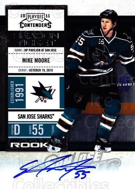 2010-11 Panini Contenders #158 Mike Moore<br/>2 In Stock - $10.00 each - <a href=https://centericecollectibles.foxycart.com/cart?name=2010-11%20Panini%20Contenders%20%23158%20Mike%20Moore...&quantity_max=2&price=$10.00&code=713301 class=foxycart> Buy it now! </a>