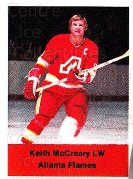 1974-75 NHL Action Stamps #12 Keith McCreary<br/>1 In Stock - $3.00 each - <a href=https://centericecollectibles.foxycart.com/cart?name=1974-75%20NHL%20Action%20Stamps%20%2312%20Keith%20McCreary...&quantity_max=1&price=$3.00&code=713347 class=foxycart> Buy it now! </a>