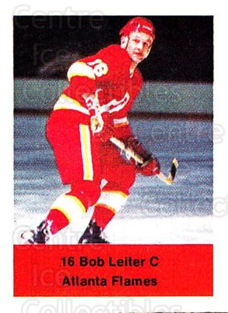 1974-75 NHL Action Stamps #15 Bob Leiter<br/>1 In Stock - $3.00 each - <a href=https://centericecollectibles.foxycart.com/cart?name=1974-75%20NHL%20Action%20Stamps%20%2315%20Bob%20Leiter...&quantity_max=1&price=$3.00&code=713350 class=foxycart> Buy it now! </a>