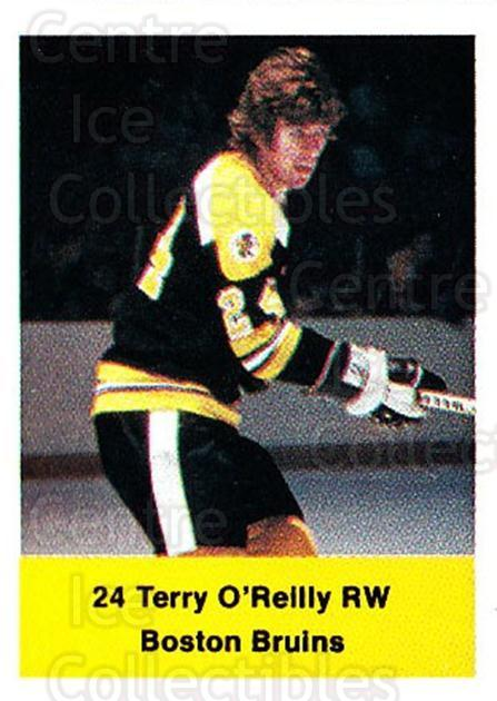 1974-75 NHL Action Stamps #22 Terry O'Reilly<br/>1 In Stock - $3.00 each - <a href=https://centericecollectibles.foxycart.com/cart?name=1974-75%20NHL%20Action%20Stamps%20%2322%20Terry%20O'Reilly...&quantity_max=1&price=$3.00&code=713357 class=foxycart> Buy it now! </a>