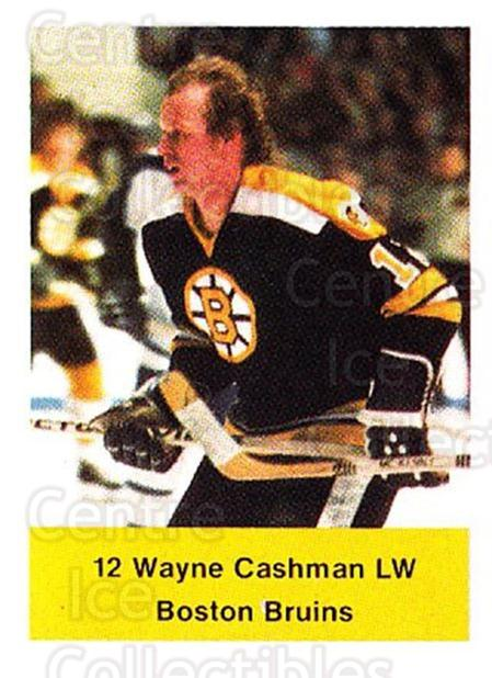 1974-75 NHL Action Stamps #30 Wayne Cashman<br/>1 In Stock - $3.00 each - <a href=https://centericecollectibles.foxycart.com/cart?name=1974-75%20NHL%20Action%20Stamps%20%2330%20Wayne%20Cashman...&quantity_max=1&price=$3.00&code=713365 class=foxycart> Buy it now! </a>