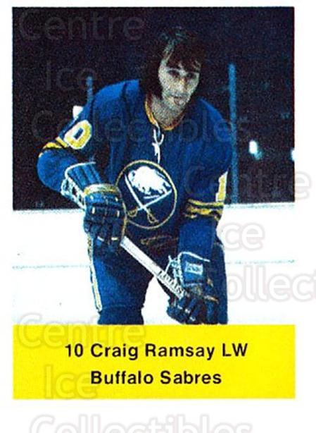 1974-75 NHL Action Stamps #40 Craig Ramsay<br/>1 In Stock - $3.00 each - <a href=https://centericecollectibles.foxycart.com/cart?name=1974-75%20NHL%20Action%20Stamps%20%2340%20Craig%20Ramsay...&quantity_max=1&price=$3.00&code=713375 class=foxycart> Buy it now! </a>