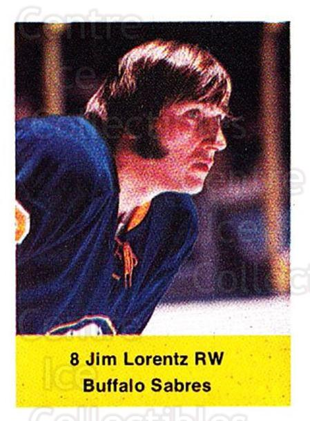1974-75 NHL Action Stamps #48 Jim Lorentz<br/>1 In Stock - $3.00 each - <a href=https://centericecollectibles.foxycart.com/cart?name=1974-75%20NHL%20Action%20Stamps%20%2348%20Jim%20Lorentz...&quantity_max=1&price=$3.00&code=713383 class=foxycart> Buy it now! </a>