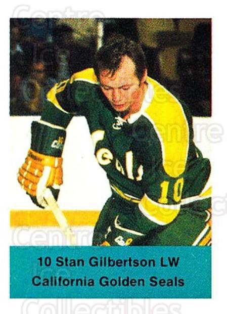 1974-75 NHL Action Stamps #60 Stan Gilbertson<br/>1 In Stock - $3.00 each - <a href=https://centericecollectibles.foxycart.com/cart?name=1974-75%20NHL%20Action%20Stamps%20%2360%20Stan%20Gilbertson...&quantity_max=1&price=$3.00&code=713395 class=foxycart> Buy it now! </a>