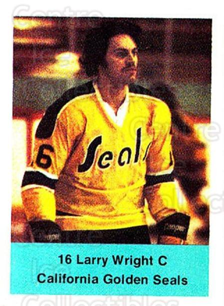 1974-75 NHL Action Stamps #62 Larry Wright<br/>1 In Stock - $3.00 each - <a href=https://centericecollectibles.foxycart.com/cart?name=1974-75%20NHL%20Action%20Stamps%20%2362%20Larry%20Wright...&quantity_max=1&price=$3.00&code=713397 class=foxycart> Buy it now! </a>