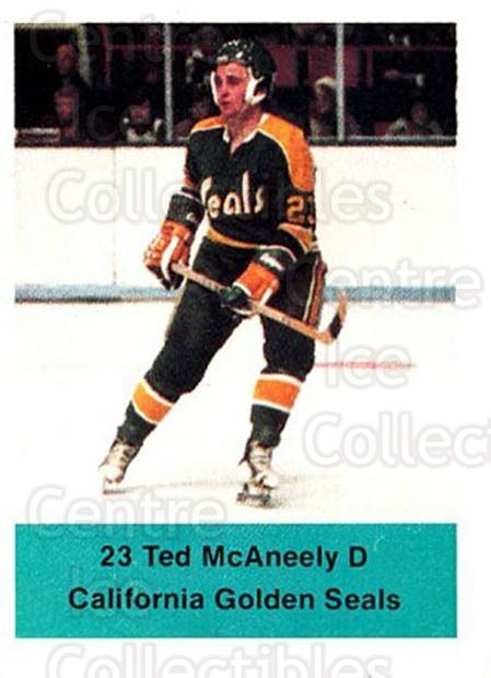 1974-75 NHL Action Stamps #66 Ted McAneeley<br/>1 In Stock - $3.00 each - <a href=https://centericecollectibles.foxycart.com/cart?name=1974-75%20NHL%20Action%20Stamps%20%2366%20Ted%20McAneeley...&quantity_max=1&price=$3.00&code=713401 class=foxycart> Buy it now! </a>