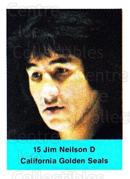 1974-75 NHL Action Stamps #67 Jim Neilson<br/>1 In Stock - $3.00 each - <a href=https://centericecollectibles.foxycart.com/cart?name=1974-75%20NHL%20Action%20Stamps%20%2367%20Jim%20Neilson...&quantity_max=1&price=$3.00&code=713402 class=foxycart> Buy it now! </a>