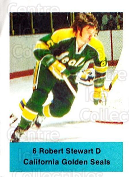1974-75 NHL Action Stamps #71 Robert Stewart<br/>1 In Stock - $3.00 each - <a href=https://centericecollectibles.foxycart.com/cart?name=1974-75%20NHL%20Action%20Stamps%20%2371%20Robert%20Stewart...&quantity_max=1&price=$3.00&code=713406 class=foxycart> Buy it now! </a>