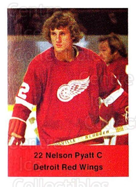 1974-75 NHL Action Stamps #96 Nelson Pyatt<br/>1 In Stock - $3.00 each - <a href=https://centericecollectibles.foxycart.com/cart?name=1974-75%20NHL%20Action%20Stamps%20%2396%20Nelson%20Pyatt...&quantity_max=1&price=$3.00&code=713431 class=foxycart> Buy it now! </a>