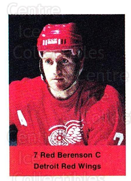1974-75 NHL Action Stamps #104 Red Berenson<br/>1 In Stock - $3.00 each - <a href=https://centericecollectibles.foxycart.com/cart?name=1974-75%20NHL%20Action%20Stamps%20%23104%20Red%20Berenson...&quantity_max=1&price=$3.00&code=713439 class=foxycart> Buy it now! </a>