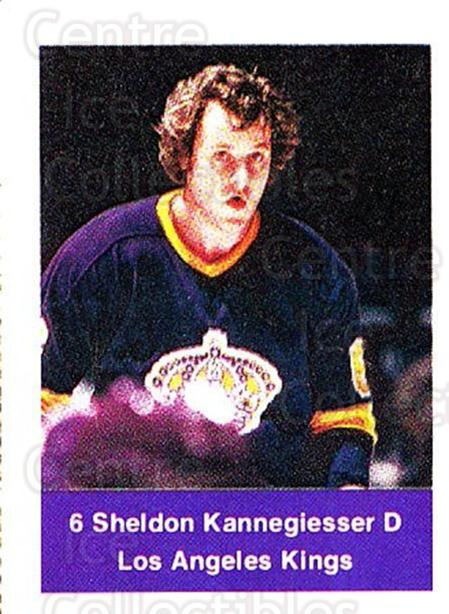 1974-75 NHL Action Stamps #114 Sheldon Kannegiesser<br/>1 In Stock - $3.00 each - <a href=https://centericecollectibles.foxycart.com/cart?name=1974-75%20NHL%20Action%20Stamps%20%23114%20Sheldon%20Kannegi...&quantity_max=1&price=$3.00&code=713449 class=foxycart> Buy it now! </a>