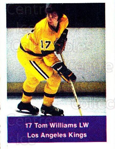 1974-75 NHL Action Stamps #118 Tom Williams<br/>1 In Stock - $3.00 each - <a href=https://centericecollectibles.foxycart.com/cart?name=1974-75%20NHL%20Action%20Stamps%20%23118%20Tom%20Williams...&quantity_max=1&price=$3.00&code=713453 class=foxycart> Buy it now! </a>