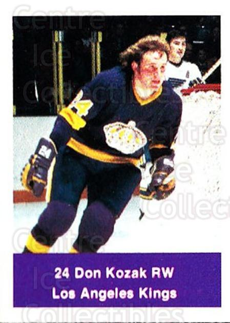 1974-75 NHL Action Stamps #124 Don Kozak<br/>1 In Stock - $3.00 each - <a href=https://centericecollectibles.foxycart.com/cart?name=1974-75%20NHL%20Action%20Stamps%20%23124%20Don%20Kozak...&quantity_max=1&price=$3.00&code=713459 class=foxycart> Buy it now! </a>