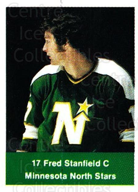 1974-75 NHL Action Stamps #132 Fred Stanfield<br/>1 In Stock - $3.00 each - <a href=https://centericecollectibles.foxycart.com/cart?name=1974-75%20NHL%20Action%20Stamps%20%23132%20Fred%20Stanfield...&quantity_max=1&price=$3.00&code=713467 class=foxycart> Buy it now! </a>