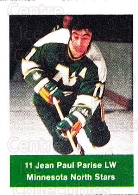 1974-75 NHL Action Stamps #133 Jean-Paul Parise<br/>1 In Stock - $3.00 each - <a href=https://centericecollectibles.foxycart.com/cart?name=1974-75%20NHL%20Action%20Stamps%20%23133%20Jean-Paul%20Paris...&quantity_max=1&price=$3.00&code=713468 class=foxycart> Buy it now! </a>