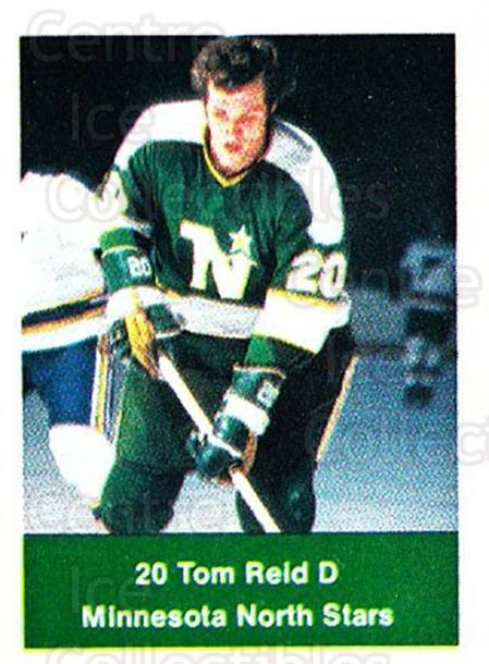 1974-75 NHL Action Stamps #134 Tom Reid<br/>1 In Stock - $3.00 each - <a href=https://centericecollectibles.foxycart.com/cart?name=1974-75%20NHL%20Action%20Stamps%20%23134%20Tom%20Reid...&quantity_max=1&price=$3.00&code=713469 class=foxycart> Buy it now! </a>