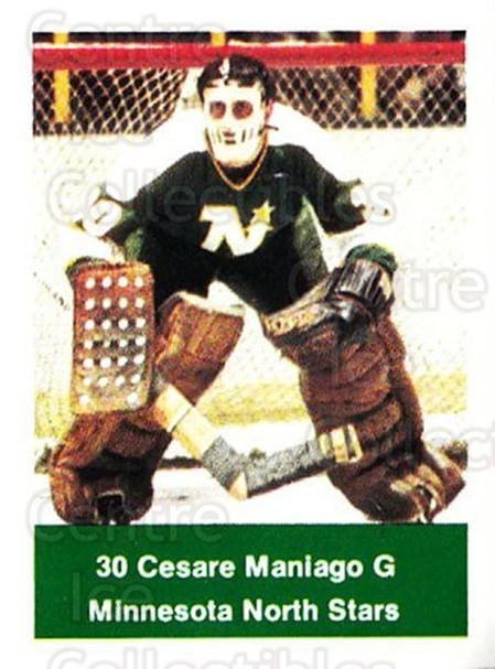 1974-75 NHL Action Stamps #138 Cesare Maniago<br/>1 In Stock - $3.00 each - <a href=https://centericecollectibles.foxycart.com/cart?name=1974-75%20NHL%20Action%20Stamps%20%23138%20Cesare%20Maniago...&quantity_max=1&price=$3.00&code=713473 class=foxycart> Buy it now! </a>