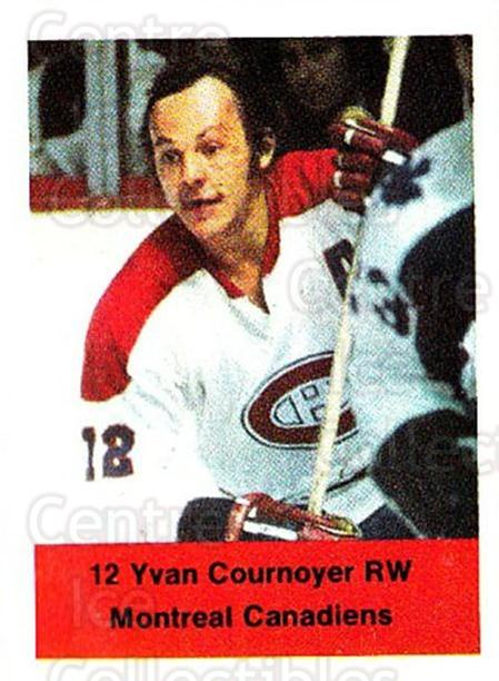 1974-75 NHL Action Stamps #148 Yvan Cournoyer<br/>1 In Stock - $3.00 each - <a href=https://centericecollectibles.foxycart.com/cart?name=1974-75%20NHL%20Action%20Stamps%20%23148%20Yvan%20Cournoyer...&quantity_max=1&price=$3.00&code=713483 class=foxycart> Buy it now! </a>