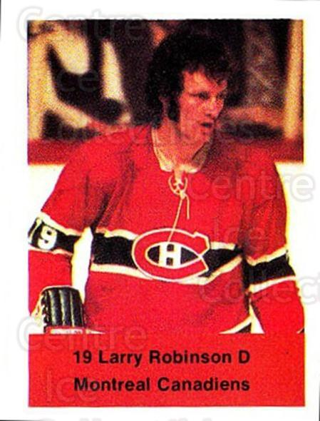 1974-75 NHL Action Stamps #153 Larry Robinson<br/>1 In Stock - $3.00 each - <a href=https://centericecollectibles.foxycart.com/cart?name=1974-75%20NHL%20Action%20Stamps%20%23153%20Larry%20Robinson...&quantity_max=1&price=$3.00&code=713488 class=foxycart> Buy it now! </a>