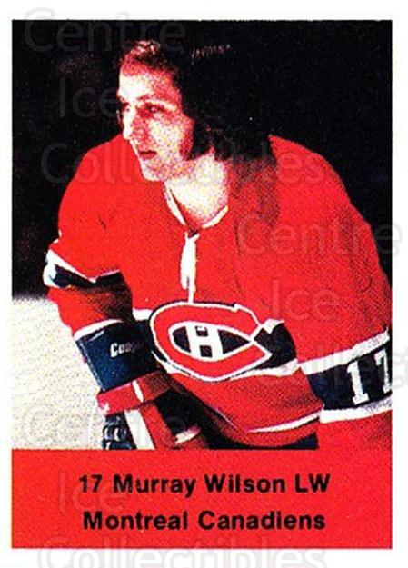 1974-75 NHL Action Stamps #160 Murray Wilson<br/>1 In Stock - $3.00 each - <a href=https://centericecollectibles.foxycart.com/cart?name=1974-75%20NHL%20Action%20Stamps%20%23160%20Murray%20Wilson...&quantity_max=1&price=$3.00&code=713495 class=foxycart> Buy it now! </a>
