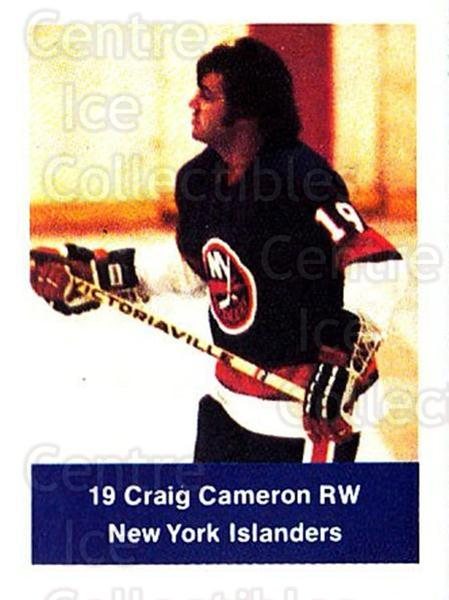 1974-75 NHL Action Stamps #166 Craig Cameron<br/>1 In Stock - $3.00 each - <a href=https://centericecollectibles.foxycart.com/cart?name=1974-75%20NHL%20Action%20Stamps%20%23166%20Craig%20Cameron...&quantity_max=1&price=$3.00&code=713501 class=foxycart> Buy it now! </a>