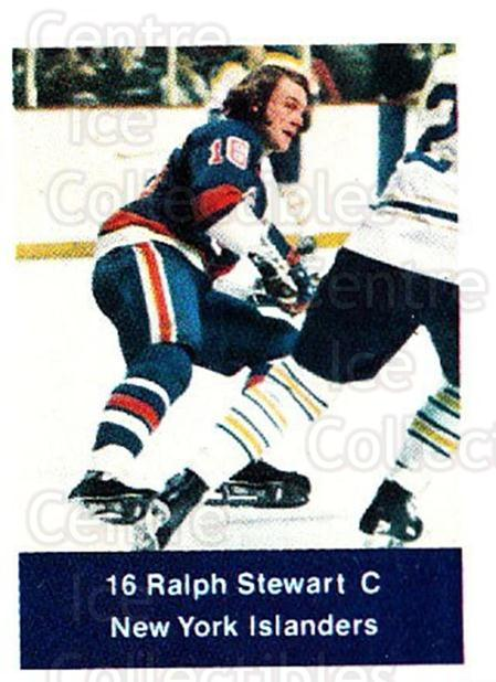 1974-75 NHL Action Stamps #167 Ralph Stewart<br/>1 In Stock - $3.00 each - <a href=https://centericecollectibles.foxycart.com/cart?name=1974-75%20NHL%20Action%20Stamps%20%23167%20Ralph%20Stewart...&quantity_max=1&price=$3.00&code=713502 class=foxycart> Buy it now! </a>
