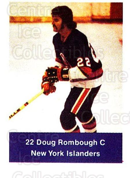 1974-75 NHL Action Stamps #171 Doug Rombough<br/>1 In Stock - $3.00 each - <a href=https://centericecollectibles.foxycart.com/cart?name=1974-75%20NHL%20Action%20Stamps%20%23171%20Doug%20Rombough...&quantity_max=1&price=$3.00&code=713506 class=foxycart> Buy it now! </a>