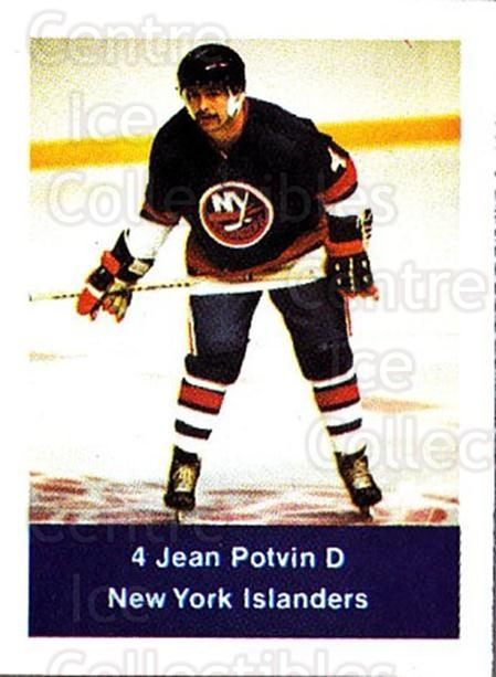 1974-75 NHL Action Stamps #172 Jean Potvin<br/>1 In Stock - $3.00 each - <a href=https://centericecollectibles.foxycart.com/cart?name=1974-75%20NHL%20Action%20Stamps%20%23172%20Jean%20Potvin...&quantity_max=1&price=$3.00&code=713507 class=foxycart> Buy it now! </a>