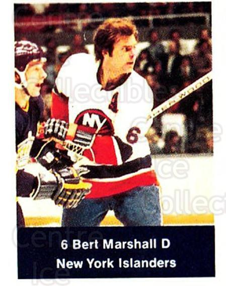 1974-75 NHL Action Stamps #174 Bert Marshall<br/>1 In Stock - $3.00 each - <a href=https://centericecollectibles.foxycart.com/cart?name=1974-75%20NHL%20Action%20Stamps%20%23174%20Bert%20Marshall...&quantity_max=1&price=$3.00&code=713509 class=foxycart> Buy it now! </a>