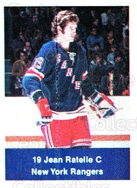 1974-75 NHL Action Stamps #186 Jean Ratelle<br/>1 In Stock - $5.00 each - <a href=https://centericecollectibles.foxycart.com/cart?name=1974-75%20NHL%20Action%20Stamps%20%23186%20Jean%20Ratelle...&quantity_max=1&price=$5.00&code=713521 class=foxycart> Buy it now! </a>