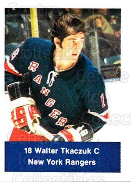 1974-75 NHL Action Stamps #192 Walt Tkaczuk<br/>1 In Stock - $3.00 each - <a href=https://centericecollectibles.foxycart.com/cart?name=1974-75%20NHL%20Action%20Stamps%20%23192%20Walt%20Tkaczuk...&quantity_max=1&price=$3.00&code=713527 class=foxycart> Buy it now! </a>