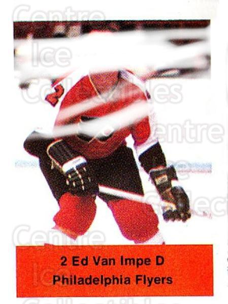 1974-75 NHL Action Stamps #207 Ed Van Impe<br/>1 In Stock - $3.00 each - <a href=https://centericecollectibles.foxycart.com/cart?name=1974-75%20NHL%20Action%20Stamps%20%23207%20Ed%20Van%20Impe...&quantity_max=1&price=$3.00&code=713542 class=foxycart> Buy it now! </a>