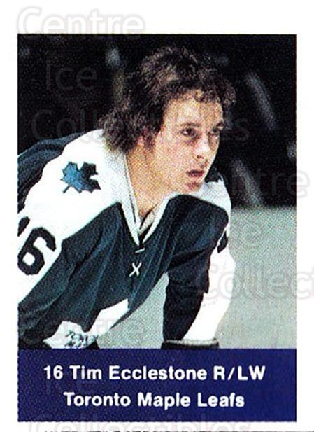 1974-75 NHL Action Stamps #255 Tim Ecclestone<br/>1 In Stock - $3.00 each - <a href=https://centericecollectibles.foxycart.com/cart?name=1974-75%20NHL%20Action%20Stamps%20%23255%20Tim%20Ecclestone...&quantity_max=1&price=$3.00&code=713590 class=foxycart> Buy it now! </a>
