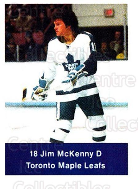 1974-75 NHL Action Stamps #260 Jim McKenny<br/>1 In Stock - $3.00 each - <a href=https://centericecollectibles.foxycart.com/cart?name=1974-75%20NHL%20Action%20Stamps%20%23260%20Jim%20McKenny...&quantity_max=1&price=$3.00&code=713595 class=foxycart> Buy it now! </a>