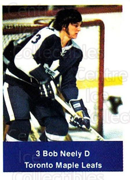 1974-75 NHL Action Stamps #263 Bob Neely<br/>1 In Stock - $3.00 each - <a href=https://centericecollectibles.foxycart.com/cart?name=1974-75%20NHL%20Action%20Stamps%20%23263%20Bob%20Neely...&quantity_max=1&price=$3.00&code=713598 class=foxycart> Buy it now! </a>