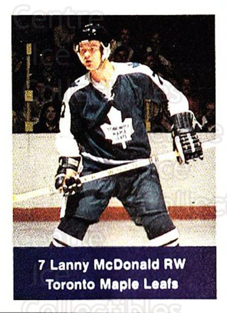 1974-75 NHL Action Stamps #264 Lanny McDonald<br/>1 In Stock - $5.00 each - <a href=https://centericecollectibles.foxycart.com/cart?name=1974-75%20NHL%20Action%20Stamps%20%23264%20Lanny%20McDonald...&quantity_max=1&price=$5.00&code=713599 class=foxycart> Buy it now! </a>