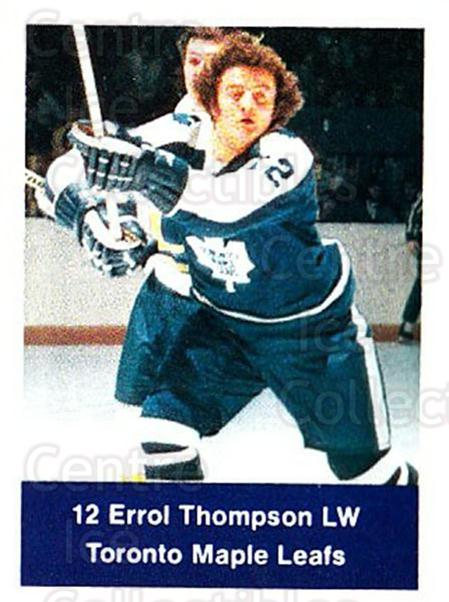 1974-75 NHL Action Stamps #266 Errol Thompson<br/>1 In Stock - $3.00 each - <a href=https://centericecollectibles.foxycart.com/cart?name=1974-75%20NHL%20Action%20Stamps%20%23266%20Errol%20Thompson...&quantity_max=1&price=$3.00&code=713601 class=foxycart> Buy it now! </a>