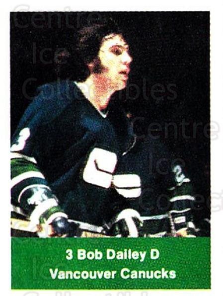 1974-75 NHL Action Stamps #280 Bob Dailey<br/>1 In Stock - $3.00 each - <a href=https://centericecollectibles.foxycart.com/cart?name=1974-75%20NHL%20Action%20Stamps%20%23280%20Bob%20Dailey...&quantity_max=1&price=$3.00&code=713615 class=foxycart> Buy it now! </a>