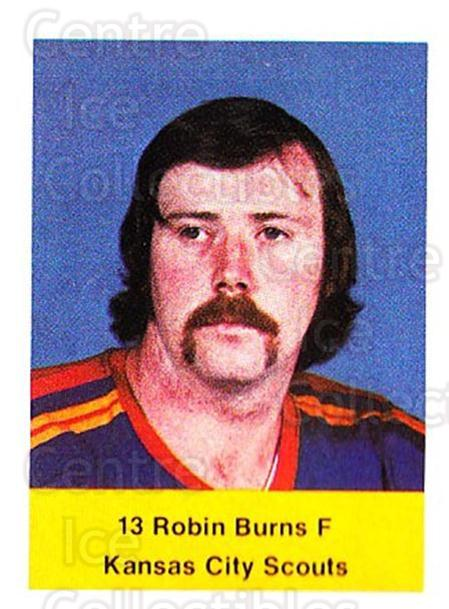 1974-75 NHL Action Stamps #289 Robin Burns<br/>1 In Stock - $3.00 each - <a href=https://centericecollectibles.foxycart.com/cart?name=1974-75%20NHL%20Action%20Stamps%20%23289%20Robin%20Burns...&quantity_max=1&price=$3.00&code=713624 class=foxycart> Buy it now! </a>