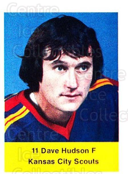1974-75 NHL Action Stamps #297 Dave Hudson<br/>1 In Stock - $3.00 each - <a href=https://centericecollectibles.foxycart.com/cart?name=1974-75%20NHL%20Action%20Stamps%20%23297%20Dave%20Hudson...&quantity_max=1&price=$3.00&code=713632 class=foxycart> Buy it now! </a>