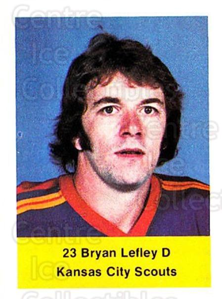1974-75 NHL Action Stamps #299 Bryan Lefley<br/>1 In Stock - $3.00 each - <a href=https://centericecollectibles.foxycart.com/cart?name=1974-75%20NHL%20Action%20Stamps%20%23299%20Bryan%20Lefley...&quantity_max=1&price=$3.00&code=713634 class=foxycart> Buy it now! </a>