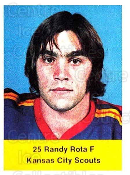1974-75 NHL Action Stamps #305 Randy Rota<br/>1 In Stock - $3.00 each - <a href=https://centericecollectibles.foxycart.com/cart?name=1974-75%20NHL%20Action%20Stamps%20%23305%20Randy%20Rota...&quantity_max=1&price=$3.00&code=713640 class=foxycart> Buy it now! </a>