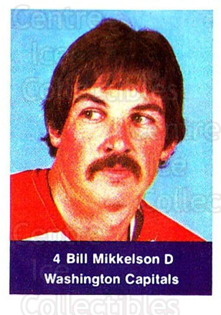 1974-75 NHL Action Stamps #307 Bill Mikkelson<br/>1 In Stock - $3.00 each - <a href=https://centericecollectibles.foxycart.com/cart?name=1974-75%20NHL%20Action%20Stamps%20%23307%20Bill%20Mikkelson...&quantity_max=1&price=$3.00&code=713642 class=foxycart> Buy it now! </a>
