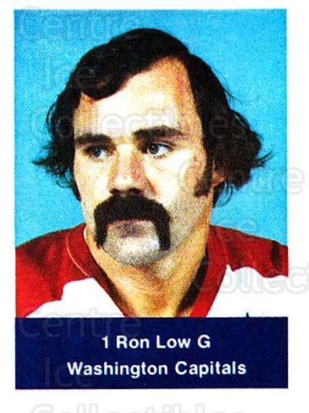 1974-75 NHL Action Stamps #308 Ron Low<br/>1 In Stock - $3.00 each - <a href=https://centericecollectibles.foxycart.com/cart?name=1974-75%20NHL%20Action%20Stamps%20%23308%20Ron%20Low...&quantity_max=1&price=$3.00&code=713643 class=foxycart> Buy it now! </a>