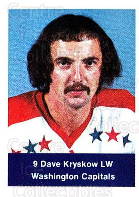 1974-75 NHL Action Stamps #320 Dave Kryskow<br/>1 In Stock - $3.00 each - <a href=https://centericecollectibles.foxycart.com/cart?name=1974-75%20NHL%20Action%20Stamps%20%23320%20Dave%20Kryskow...&quantity_max=1&price=$3.00&code=713655 class=foxycart> Buy it now! </a>
