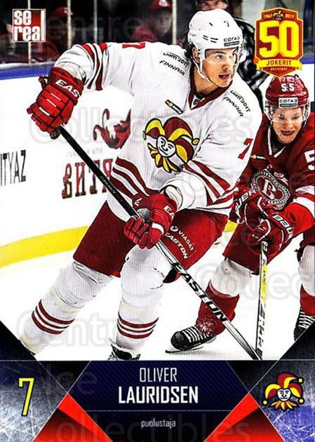 2017-18 Finnish Jokerit Helsinki Sereal #B06 Oliver Lauridsen<br/>6 In Stock - $2.00 each - <a href=https://centericecollectibles.foxycart.com/cart?name=2017-18%20Finnish%20Jokerit%20Helsinki%20Sereal%20%23B06%20Oliver%20Lauridse...&quantity_max=6&price=$2.00&code=713665 class=foxycart> Buy it now! </a>