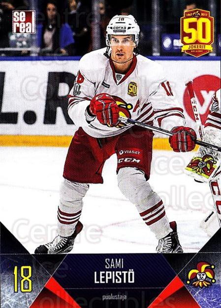 2017-18 Finnish Jokerit Helsinki Sereal #B08 Sami Lepisto<br/>5 In Stock - $2.00 each - <a href=https://centericecollectibles.foxycart.com/cart?name=2017-18%20Finnish%20Jokerit%20Helsinki%20Sereal%20%23B08%20Sami%20Lepisto...&quantity_max=5&price=$2.00&code=713667 class=foxycart> Buy it now! </a>